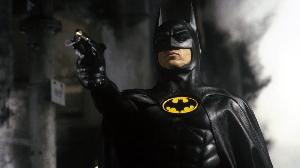 Michael Keaton Flash batman